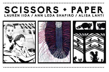 Scissors + Paper